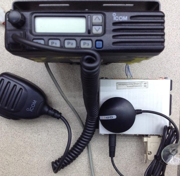 Радиостанция с GPS-приемником